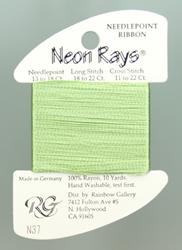 Neon Rays Celery - Rainbow Gallery