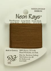 Neon Rays Umber - Rainbow Gallery