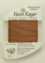 Neon Rays Mocha - Rainbow Gallery
