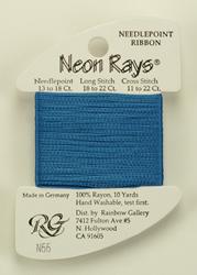 Neon Rays True Blue - Rainbow Gallery