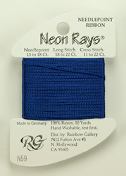 Neon Rays Royal Blue - Rainbow Gallery
