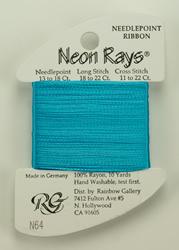 Neon Rays Aqua - Rainbow Gallery