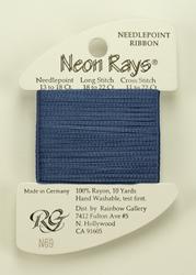 Neon Rays Denim - Rainbow Gallery