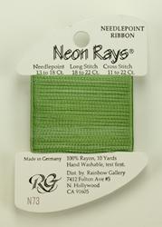 Neon Rays Spring Green - Rainbow Gallery