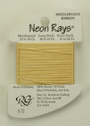 Neon Rays Apricot - Rainbow Gallery