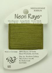 Neon Rays Avocado - Rainbow Gallery