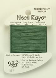 Neon Rays Willow Green - Rainbow Gallery