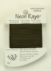 Neon Rays Deep Olive - Rainbow Gallery
