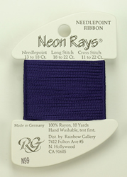 Neon Rays Deep Violet - Rainbow Gallery