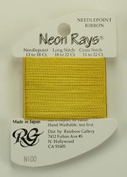Neon Rays Brassy Gold - Rainbow Gallery