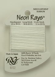 Neon Rays Antique White - Rainbow Gallery