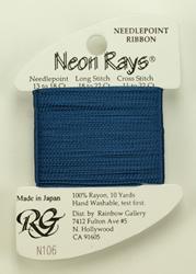 Neon Rays Federal Blue - Rainbow Gallery