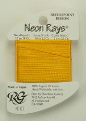 Neon Rays Yellow Gold - Rainbow Gallery