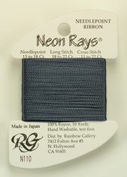 Neon Rays Dark Pewter - Rainbow Gallery