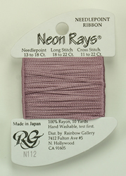 Neon Rays Antique Rose - Rainbow Gallery