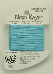 Neon Rays Baby Blue - Rainbow Gallery