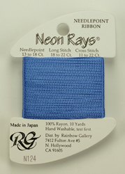 Neon Rays Delft Blue - Rainbow Gallery