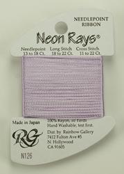 Neon Rays Lilac - Rainbow Gallery