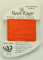 Neon Rays Orange - Rainbow Gallery