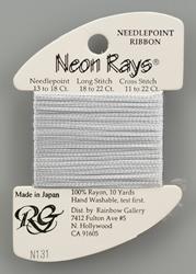 Neon Rays Pale Iris - Rainbow Gallery
