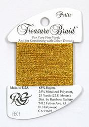 Petite Treasure Braid Bright Gold - Rainbow Gallery