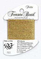 Petite Treasure Braid Gold - Rainbow Gallery