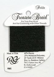 Petite Treasure Braid Black - Rainbow Gallery