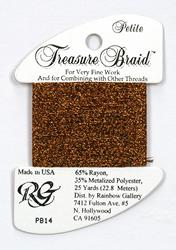 Petite Treasure Braid Bronze - Rainbow Gallery
