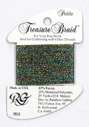 Petite Treasure Braid Confetti Dark - Rainbow Gallery