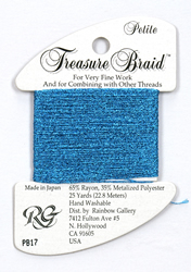 Petite Treasure Braid Blue - Rainbow Gallery