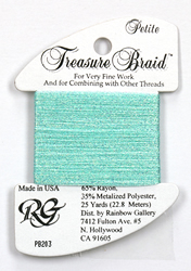 Petite Treasure Braid Pearl Seafoam - Rainbow Gallery