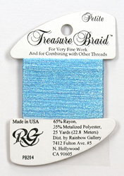 Petite Treasure Braid Pearl Blue - Rainbow Gallery