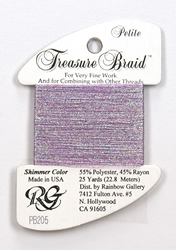 Petite Treasure Braid Pearl Amethyst - Rainbow Gallery