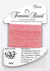 Petite Treasure Braid Pearl Pink - Rainbow Gallery