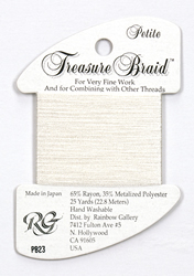 Petite Treasure Braid White - Rainbow Gallery