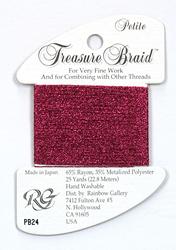 Petite Treasure Braid Fuchsia - Rainbow Gallery