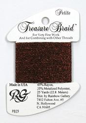 Petite Treasure Braid Burgundy - Rainbow Gallery