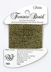 Petite Treasure Braid Antique Gold - Rainbow Gallery