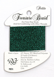 Petite Treasure Braid Emerald - Rainbow Gallery