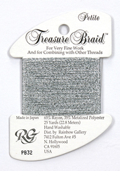 Petite Treasure Braid Silver Grey - Rainbow Gallery