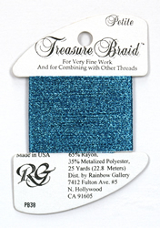 Petite Treasure Braid Azure Blue - Rainbow Gallery