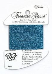 Petite Treasure Braid Azure Blue - Rainbow Gallery