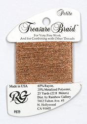 Petite Treasure Braid New Copper - Rainbow Gallery