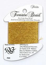 Petite Treasure Braid Egyptian Gold - Rainbow Gallery