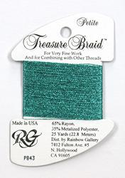 Petite Treasure Braid Turqoise - Rainbow Gallery