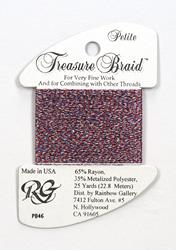 Petite Treasure Braid 4th of July - Rainbow Gallery