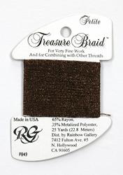 Petite Treasure Braid Brown - Rainbow Gallery