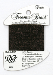 Petite Treasure Braid Dark Chocolate - Rainbow Gallery