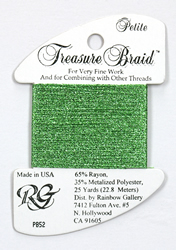 Petite Treasure Braid Lighter Green - Rainbow Gallery