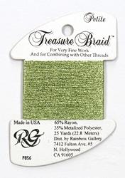 Petite Treasure Braid Pale Avocado - Rainbow Gallery